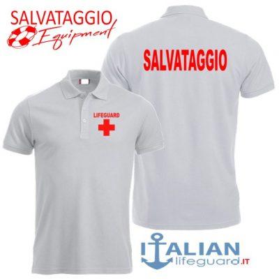 italian-lifeguard-polo-uomo-bianca-salvataggio-croce