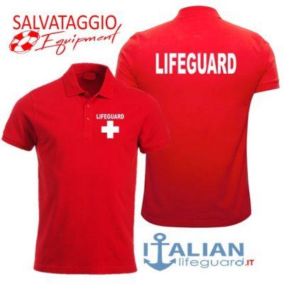 italian-lifeguard-polo-uomo-rossa-lifeguard-croce