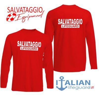 italian-lifeguard-t-shirt-m.lunga-rossa-uomo-salvataggio-lifeguard-fr